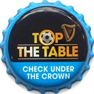 Top the table